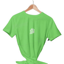 تیشرت بیسیک سبز فسفری
