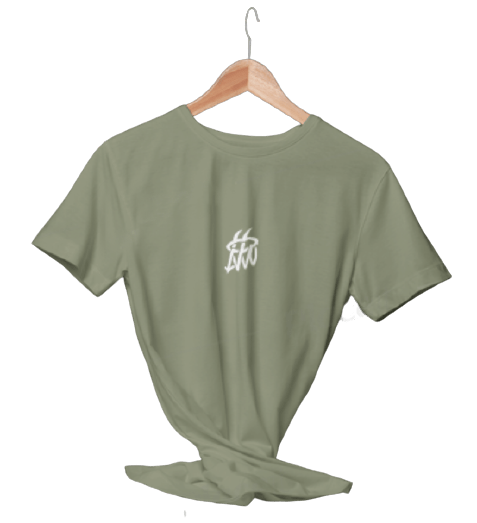 تیشرت سبز سدری ساده