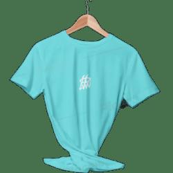 تیشرت بیسیک آبی روشن ساده